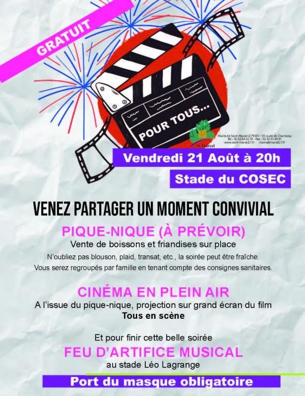 2affiche cine plein air saint marcel
