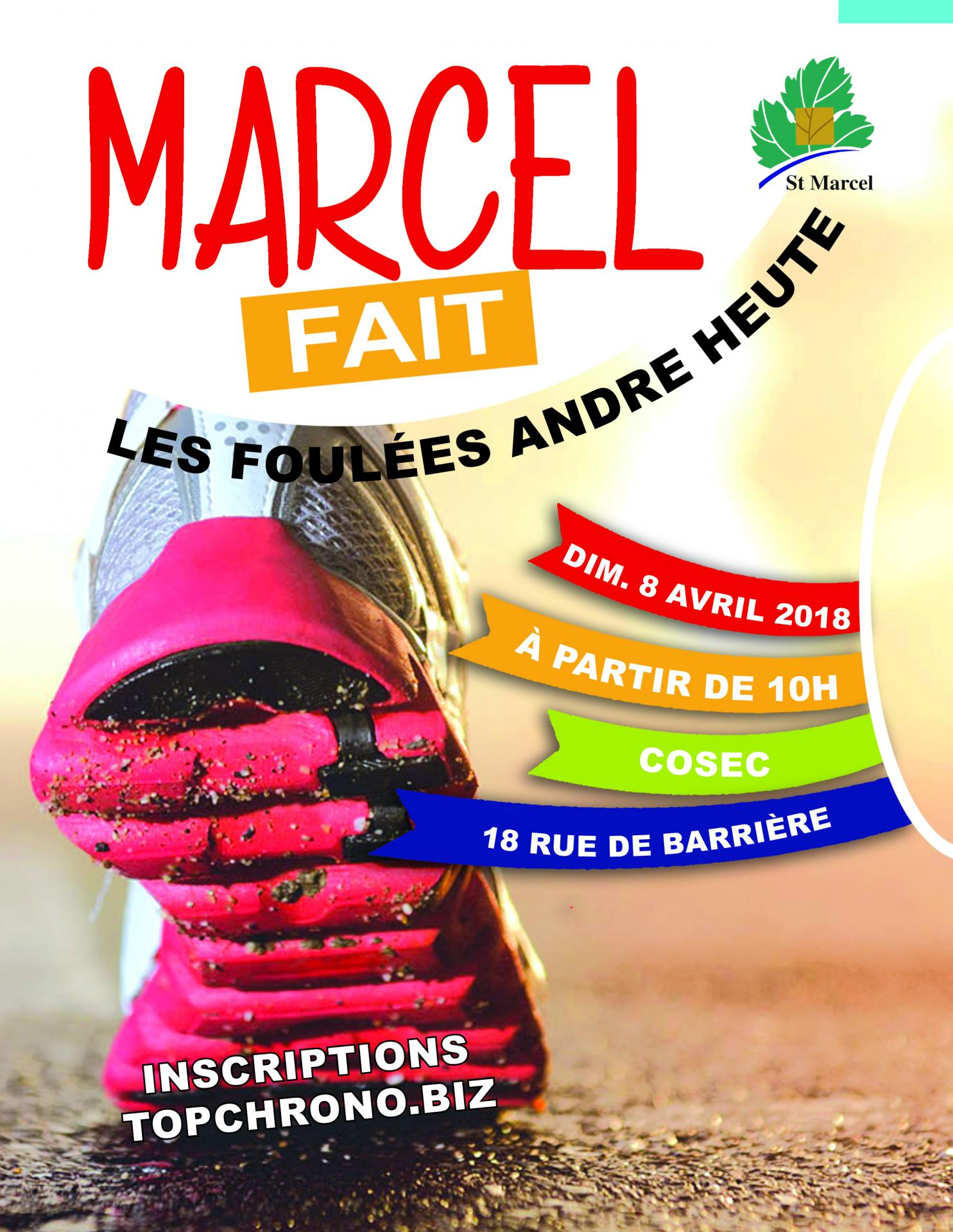 Foulees affiche
